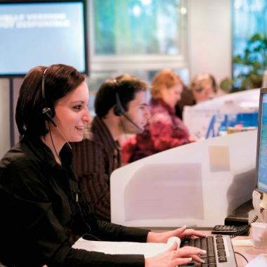 Beratung und Bestellannahme durch unser Service-Team