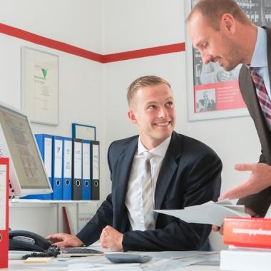Wir bieten Perspektiven und Karrierechancen  - im Innendienst und Außendienst