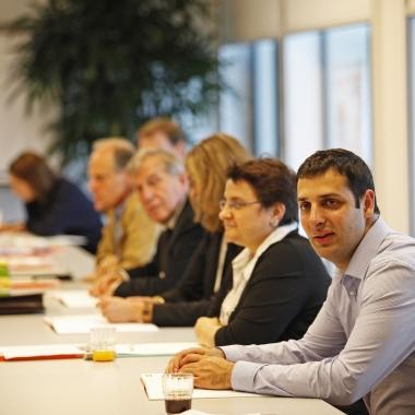 Bei der KundInnenbeiratssitzung in der Wien Energie Firmenzentrale.   (c) Wien Energie/ Rene Wallentin