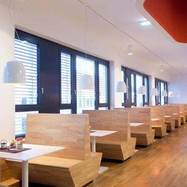 """Das Betriebsrestaurant """"Kuchl"""" in Town Town.   (c) Wien Energie/ Ludwig Schedl"""
