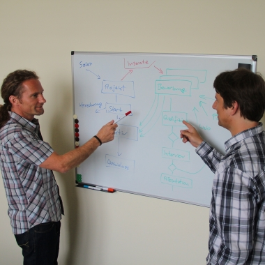 Technische Expertise: Unsere Experten halten ihr Know-how stets auf dem neuesten Stand. Die interne ConSol*-Akademie fördert den Wissensaustausch im Unternehmen.