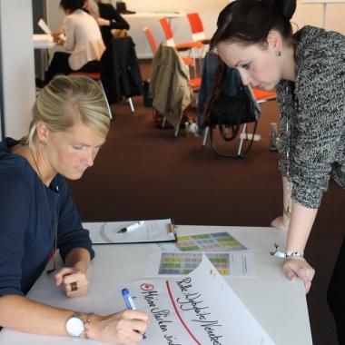 Workshop beim Praktikanten-Sommerprogramm 2014