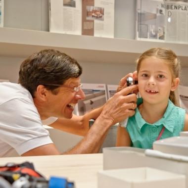 Gesundheit beginnt bei uns schon bei den Kleinen - hier zu Gast bei unserem Familien- und Gesundheitstag