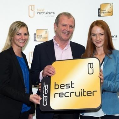ISS erhält Auszeichnung für hervorragende Recruiting-Qualität (Best Recruiter 2014/15)