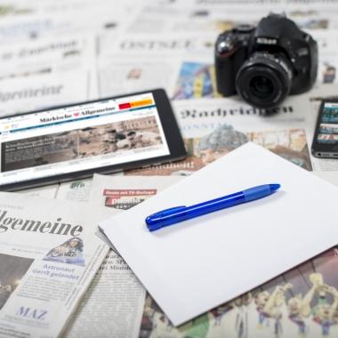 Die MADSACK Mediengruppe ist in unterschiedlichen Geschäftsfeldern aktiv: Journalismus, Post und Logistik, Film und Fernsehen, Druck, Werbung und Kommunikation sowie im Digitalgeschäft.