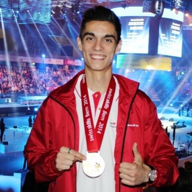 Blerton Ahmeti gewinnt die SwissSkills 2014
