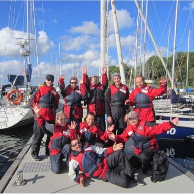 3 Tage- Segel-Team-Event