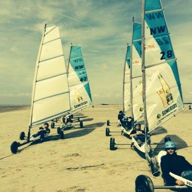 Team Event Beach Sailing