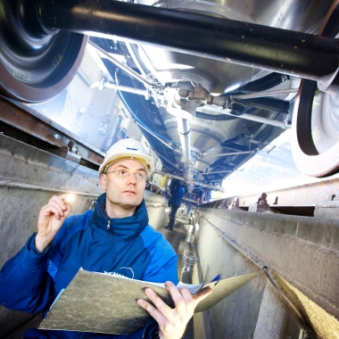 TÜV NORD überwacht die Fertigung und Zulassung von Schienenfahrzeugen © TÜV NORD GROUP