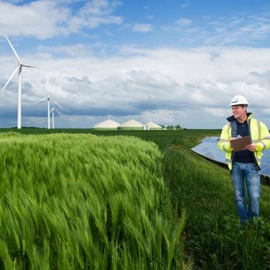 Prüfung und Zertifizierung von Anlagen für erneuerbare Energien © TÜV NORD GROUP