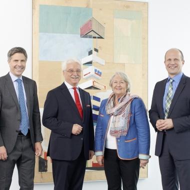 Geschäftsführung und Gesellschafter der Uhlmann Pac-Systeme GmbH & Co. KG