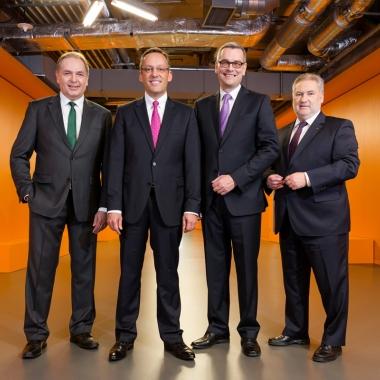 Der Vorstand der Volksbank Mittelhessen