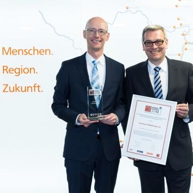 Volksbank Mittelhessen erhält die Auszeichnung Great Place to Work