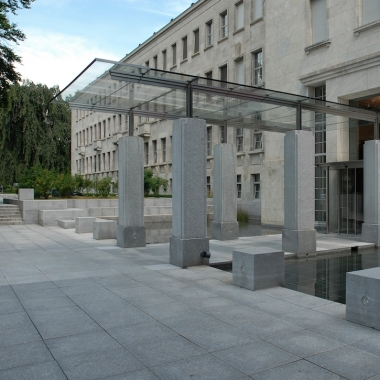 Hauptsitz der AXA in Winterthur - Eingangsbereich