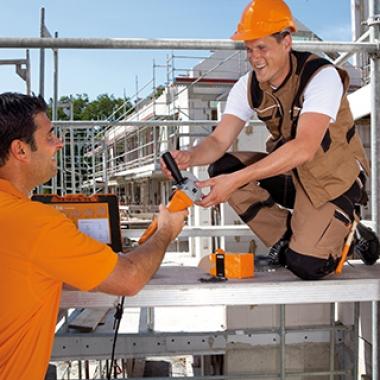 Wir liefern direkt auf die Baustelle - unkompliziert und schnell.
