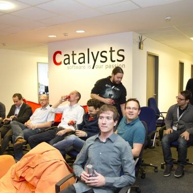 Wir tauschen unser Wissen aus – immer wieder in kleinen Lektionen, oder hier bei unserer ersten Catalysts Conference.