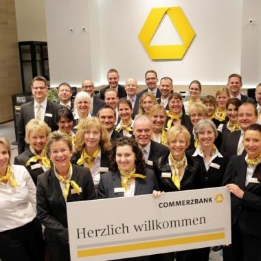 Das Team der Flagship-Filiale in Berlin