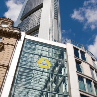 Commerzbank Zentrale in Frankfurt - unser Tower