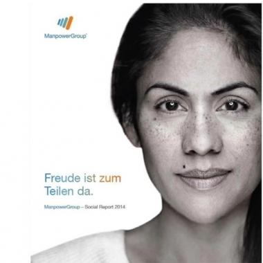 Social Report 2014 ? ManpowerGroup Deutschland ?Freude ist zum Teilen da...