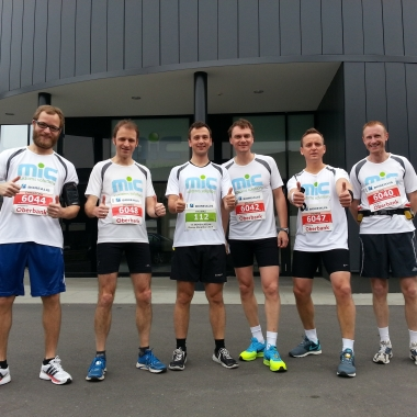 MIC@run4fun beim Linz-Marathon