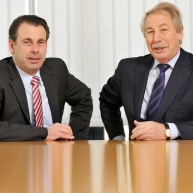 Die Geschäftsführung der WAGNER Group GmbH: Torsten und Werner Wagner