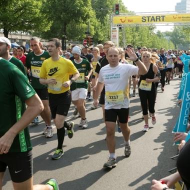 Und los geht es! TUI Marathon 2014