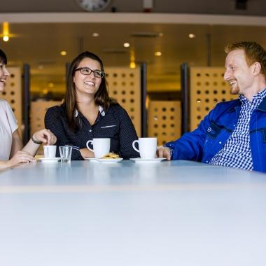 Die BASF-Gastronomie sorgt dafür, dass sich Mitarbeiter, Gäste und Nachbarn rundum wohl fühlen.