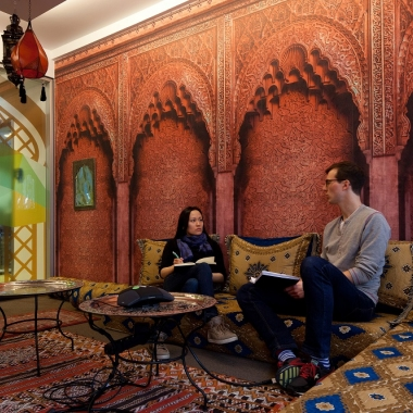 """One of our favourite meeting rooms: """"Prince of Persia"""""""