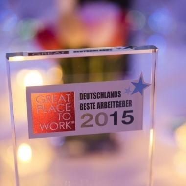 """""""Great place to work"""" –LeasePlan gehört zu Deutschlands besten Arbeitgebern 2015"""
