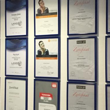 Ausgezeichnet: Regelmäßige Zertifizierungen unserer Mitarbeiter