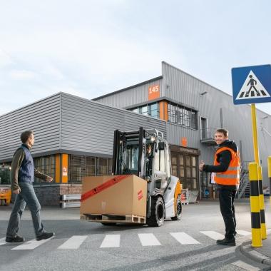 Mitarbeiter am Produktionsstandort Hamburg