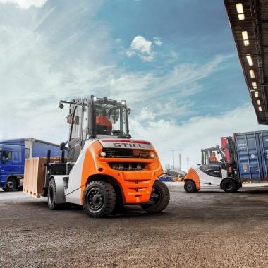 Wirtschaftlich und stark: die Dieselgabelstapler von STILL