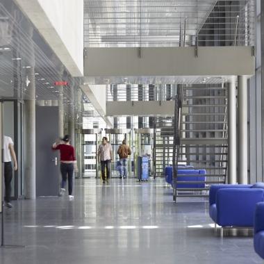 Der Eingangsbereich unseres Standortes Bern-Worblaufen.