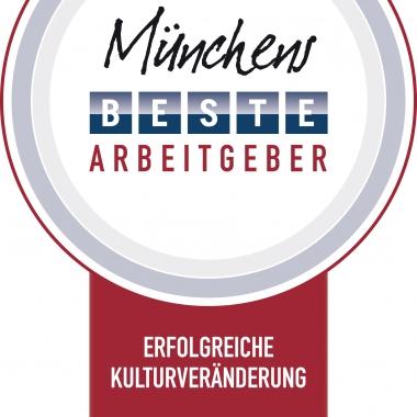 Ausgezeichnet als einer von Münchens besten Arbeitgebern