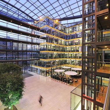 Innenansicht des Düsseldorfer Office
