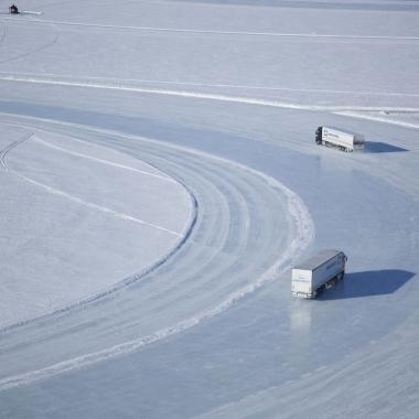 Wintertests im schwedischen Arjeplog
