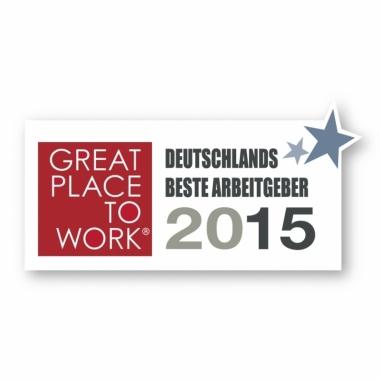 """Zum vierten Mal erhielt Protection One in diesem Jahr die Auszeichnung """"Beste Arbeitgeber Deutschlands""""."""