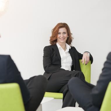 Prokuristin Melanie Klaas