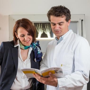 Unsere Ärzte setzen ihr Fachwissen jeden Tag zum Wohl unserer Patienten ein.