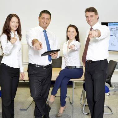 We want you! Energiegeladene Menschen und innovative Ideen finden Sie bei CRIF.