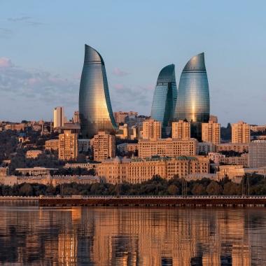 Referenzobjekt: Bürogebäude Flame Towers, Baku Aserbaidschan