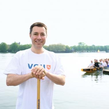 Eine von vielen weiteren Mitarbeiter-Initiativen: das VGH-Drachboot-Team.