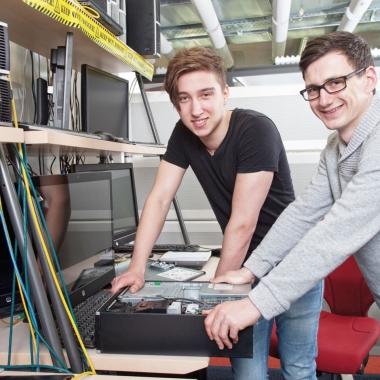 Unsere IT-Profis von Morgen bringen frischen Wind ins Unternehmen