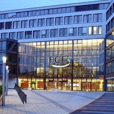 ECE-Unternehmenszentrale in Hamburg