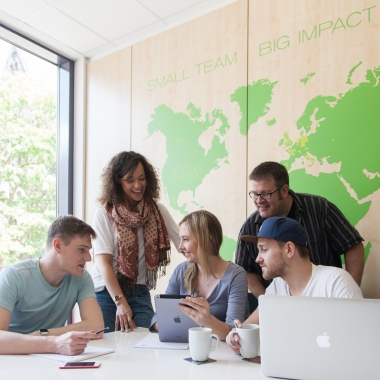 Small Team – Big Impact!