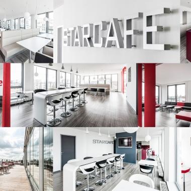 Unser Star Cafe mit Terrasse