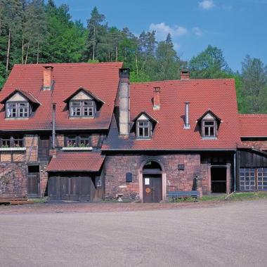 Hier fing alles an: Mit einer einfachen Hammerschmiede begann 1779 in Hasloch die einzigartige Erfolgsgeschichte des Kurtz Ersa-Konzerns.