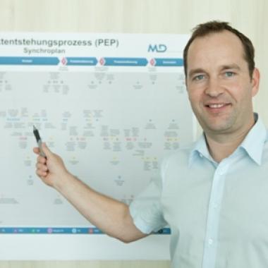 Stefan Blasi, Projektleiter in der Technologie Entwicklung