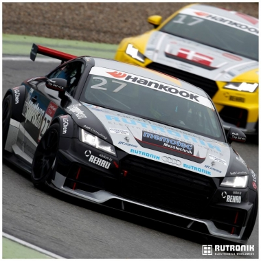 Sposoring - Audi Sport TT Cup / DTM: Unterstützung des Team Marschall (Pilot: Dennis Marschall).