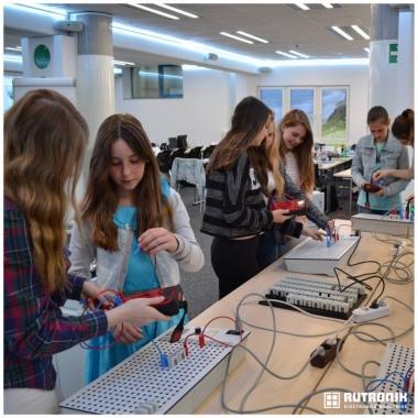 Girls Day -  Traumberufe in der Elektronikbranche praxisnah erleben.
